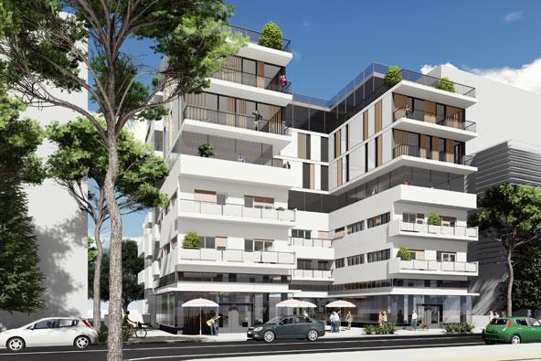 הדמיה של מלון דיזנגוף 99 בתל אביב