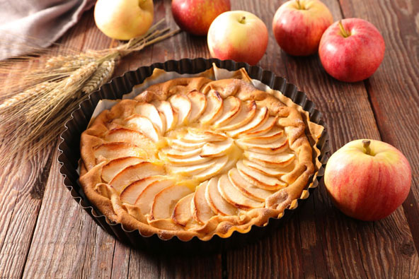 הגרסה הפולנית לפאי תפוחים. ללקק את האצבעות!