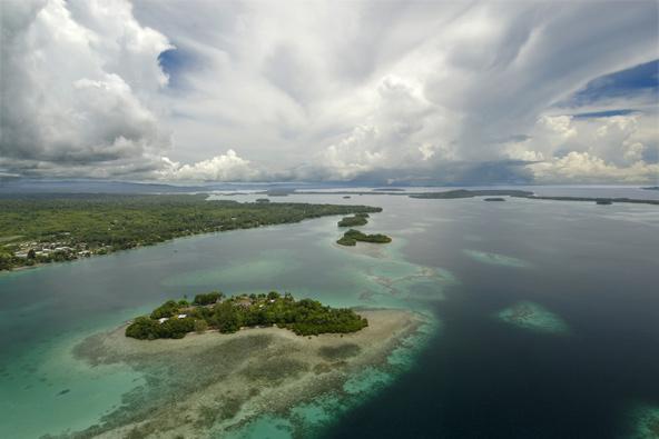 איי שלמה. חמישה איים כבר נעלמו מתחת לפני הים, מה יעלה בגורלם של האיים האחרים?