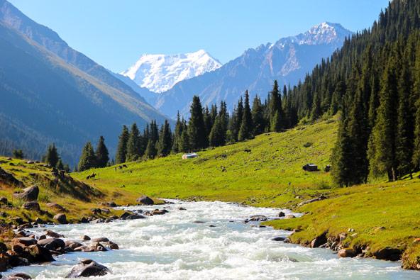 טרק בקירגיזסטן: 13 יום בהרי הטיאן שאן