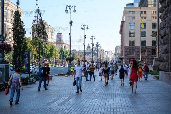 רחוב חרשטיק, רחוב הקניות המרכזי של קייב