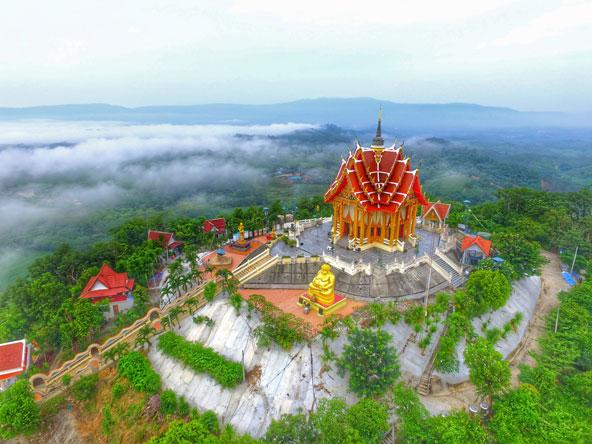 מקדש בפאק צ'ונג, אזור הצמוד לשמורה