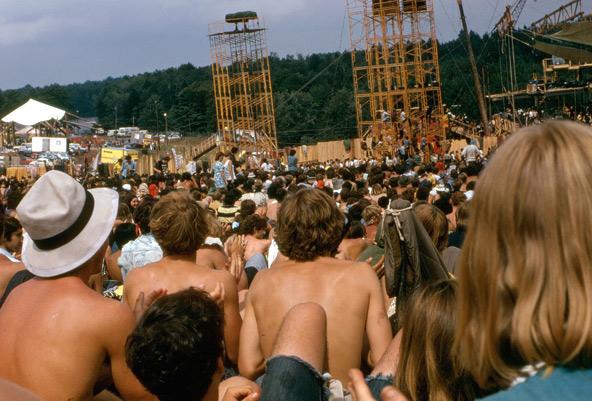 פסטיבל וודסטוק. בין העירום, עשן הסמים והמוזיקה התעופפה גם רוחניות לכל עבר