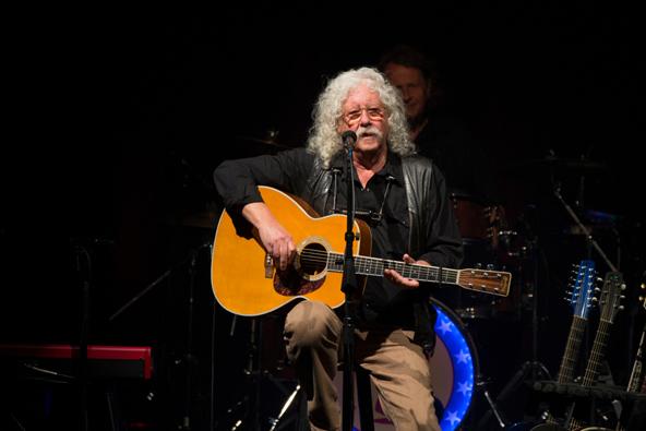 ארלו גט'רי 50 שנה אחרי ההופעה שלו בפסטיבל וודסטוק | צילום Sterling Munksgard / Shutterstock.com