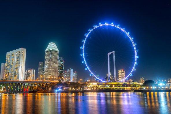 הגלגל הענק של סינגפור, מהגבוהים בעולם