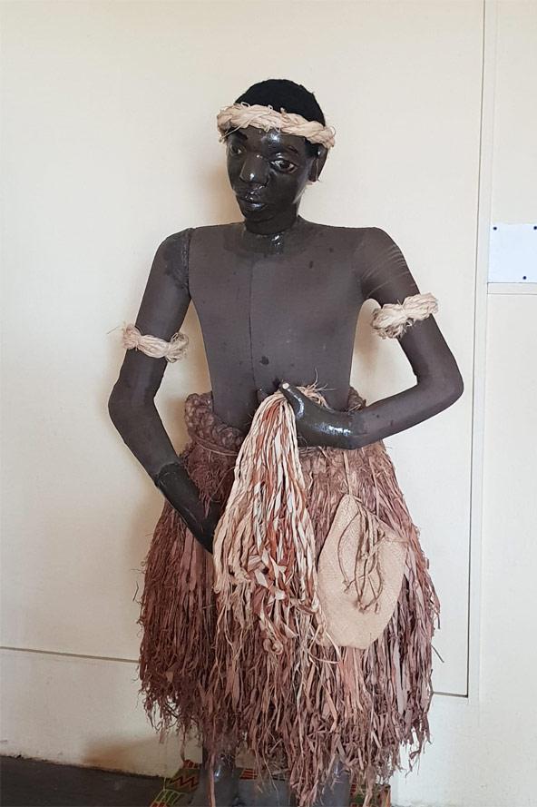מוצג במוזיאון הלאומי בגרנד בסאם | צילום: אירית בק