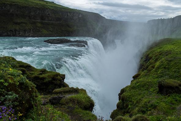 מפל גולפוס, מהאטרקציות המוכרות של איסלנד