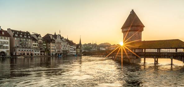 לוצרן. חופשה עירונית בשוויץ משלבת תענוגות אורבניים וטיולים בטבע הסמוך לעיר