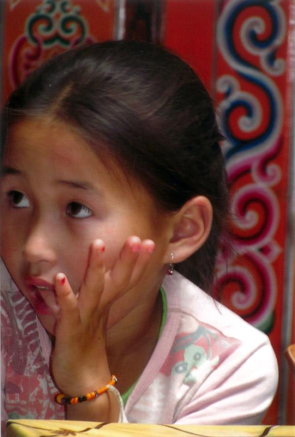 ילדה מונגולית | צילום: חנה יפה