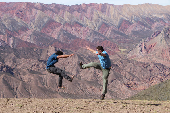 הומוואקה, ארגנטינה. לפעמים הנוף מדהים כל כך שמתחשק לפרוץ בריקוד... | צילומים בכתבה: אלה אל עמי