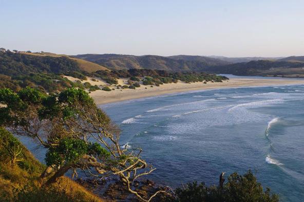 החוף הפראי (Wild Coast) בדרום אפריקה, המקום הטוב ביותר לראות את מירוץ הסרדינים | צילום: Sophie Jacquel