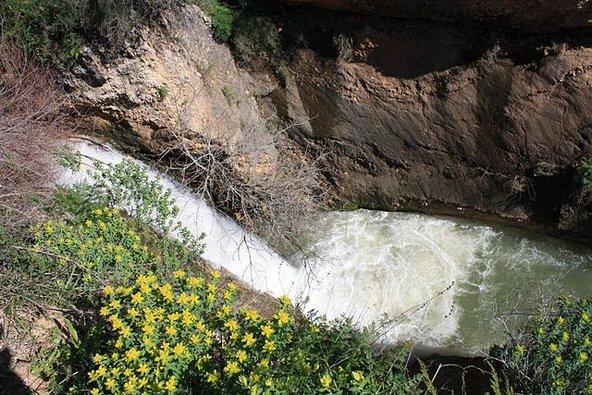 מפל האשד בשמורת נחל עיון | צילום: מאת Adiel lo CC BY-SA 3.0