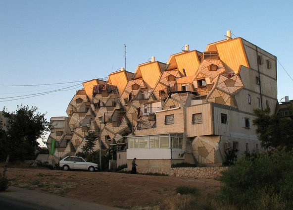 בית טיפוסי בשכונה הירושלמית רמות פולין