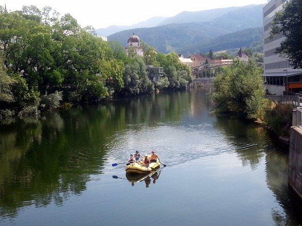 נהר המור הוא כר פורה לשלל טיולים ופעילויות מים