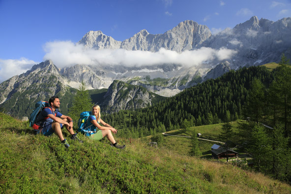 עם נופים כאלה, לא תתחילו לתכנן את החופשה הבאה בשלדמינג-דאכשטיין? | צילום: Herbert Raffalt