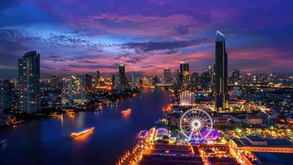 בנגקוק. אחת הערים המסעירות במזרח אסיה