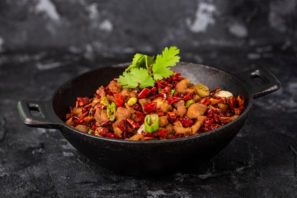 המטבח של סצ'ואן נחשב לאחד המטבחים הטובים בסין