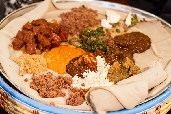 להכיר את אתיופיה דרך האוכל