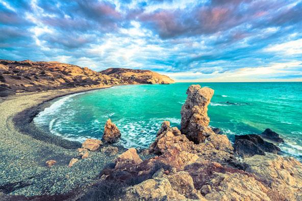חוף אפרודיטה הסמוך לפאפוס