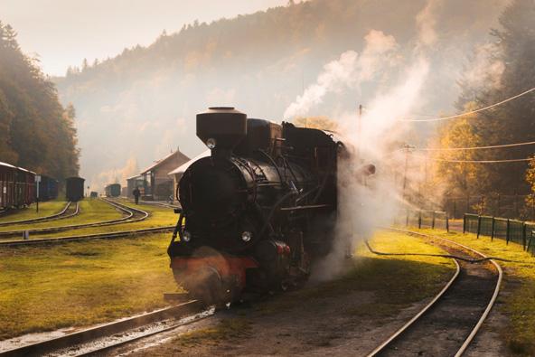 נסיעה חווייתית ברכבת קיטור מהמאה ה-19