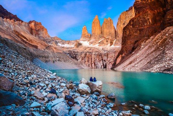 טורס דל פיינה בצ'ילה. הנופים בדרום אמריקה מגוונים להפליא
