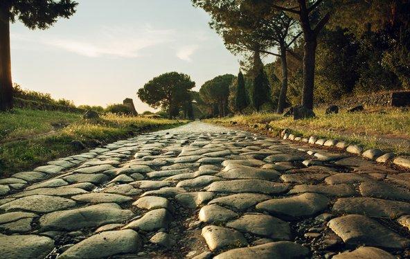 ויה אפיה אנטיקה, הדרך הראשונה שהרומים סללו