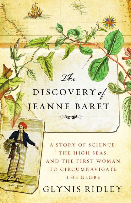 סיפור על מדע, ימים סוערים והאישה הראשונה שהקיפה את הגלובוס - עטיפת הספר של גלניס רידלי על ג'יין בארט