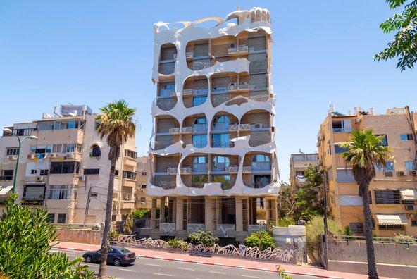 הבית המשוגע ברחוב הירקון בתל אביב