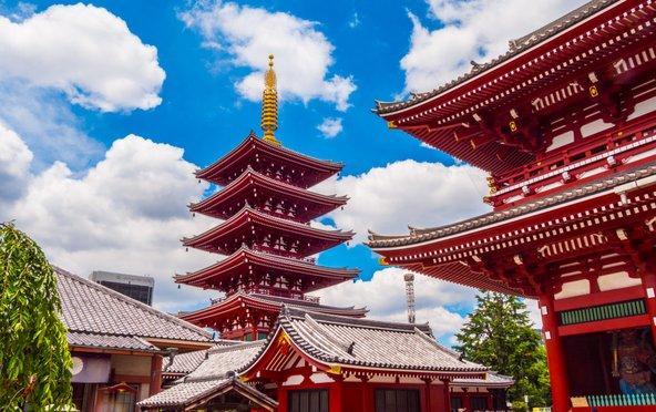 מקדש סנסו ג'י, העתיק ביותר ביפן