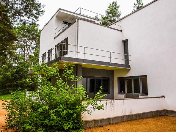 בית בעיצוב של גרופיוס משנת 1925. במהלך שנות ה-20 גרופיוס עיצב בניינים שונים בדסאו וסביבתה
