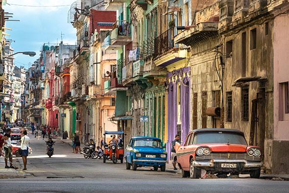 ברחובות הוואנה, צילום רפי קורן