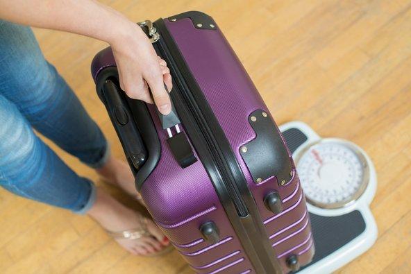 מומלץ לשקול את המזוודה לפני שיוצאים מהבית