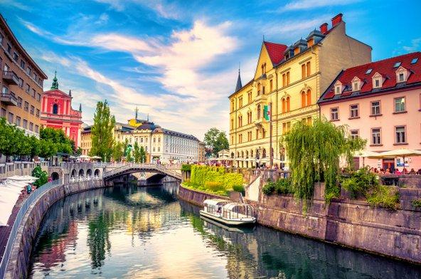 לובליאנה, בירתה היפה של סלובניה