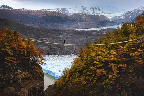 הצילום הזוכה: קרחון גריי בפארק טורס דל פיינה, צ'ילה | צילום: ליאור אקוניס