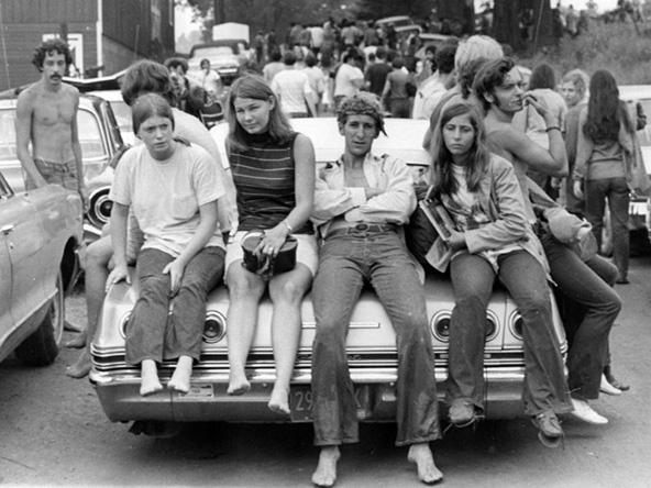 18 באוגוסט 1969, צעירים בדרכם לפסטיבל וודסטוק, האירוע שהשפיע על דור שלם