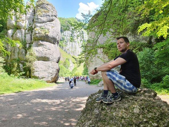 אדם קורן בפארק הלאומי אויצוב בפרובינציית קרקוב בפולין