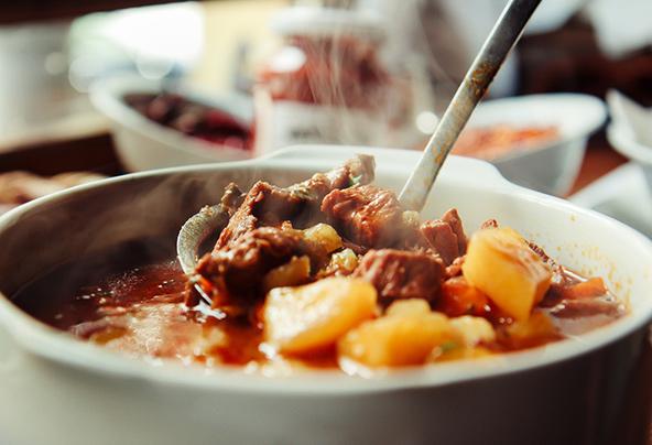 גולש, אחת המנות הפופולריות במטבח ההונגרי