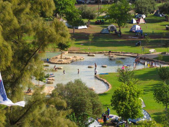 גן לאומי מעיין חרוד. מקום מושלם לפיקניק ליד המים