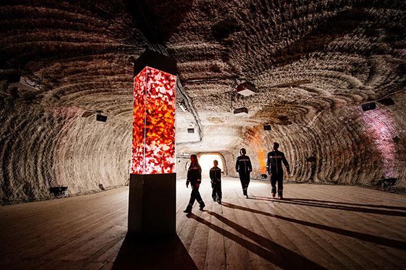 במעמקי האדמה: מכרה המלח בבוואריה