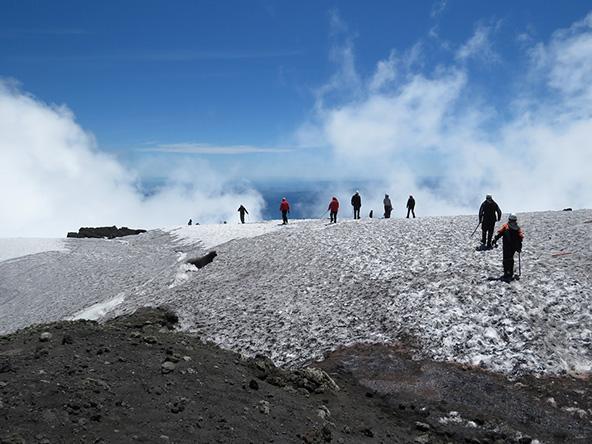 טרק על הר הגעש ויאריקה, צ'ילה | צילום: נאווה לינדנפלד