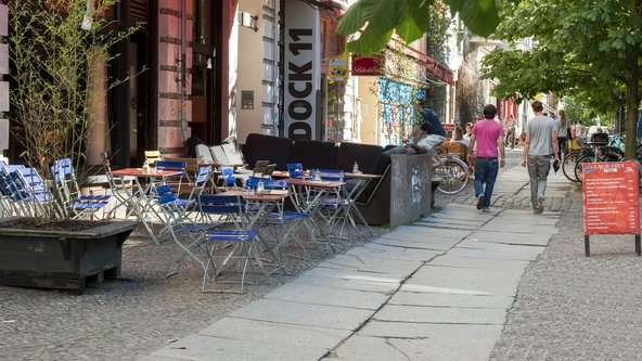 רחוב טיפוסי בפרנצלאוארברג, השכונה האהובה על נירית בן יוסף בברלין | צילום: calix / Shutterstock.com