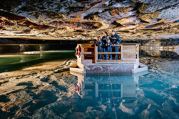 במעמקי האדמה: חדרים שונים במכרה המלח | הצילומים באדיבות Salt Mine Berchtesgaden, Südwestdeutsche Salzwerke AG