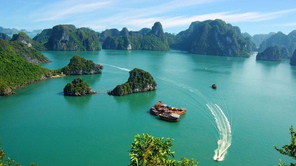 שייט במפרץ האלונג, משיאי הטיול בווייטנאם