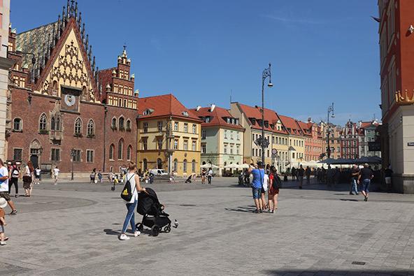 ורוצלב, בירת שלזיה תחתית. עיר נעימה ששווה בהחלט לעצור בה ליום או יומיים