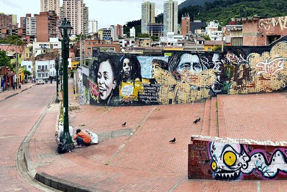 אמנות רחוב בבוגוטה