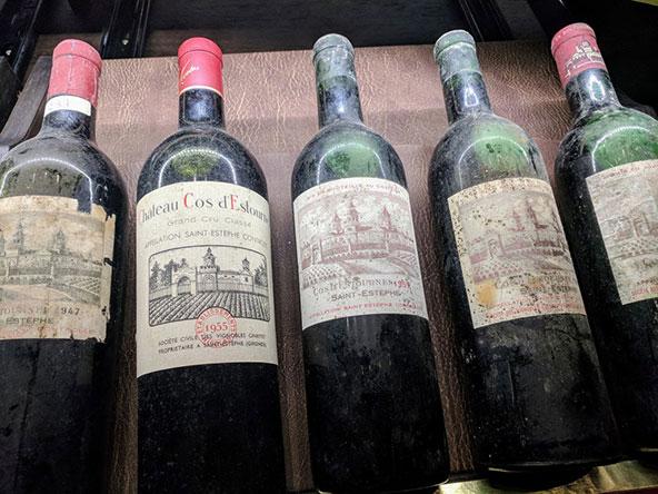 יינות של Château Cos d'Estournel