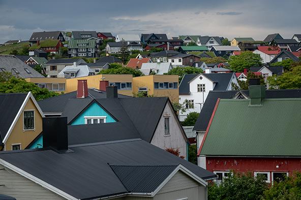טורסהאבן, הבירה ולמעשה העיר היחידה באיים | צילום: רפי קורן