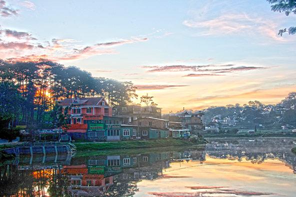 שקיעה בדאלאת, אחת הערים הכי רומנטיות בווייטנאם