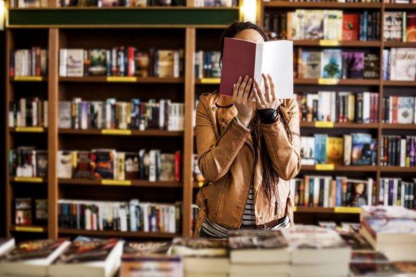 חנויות ספרים הן מקום נהדר לברוח אליו מהשגרה היומיומית