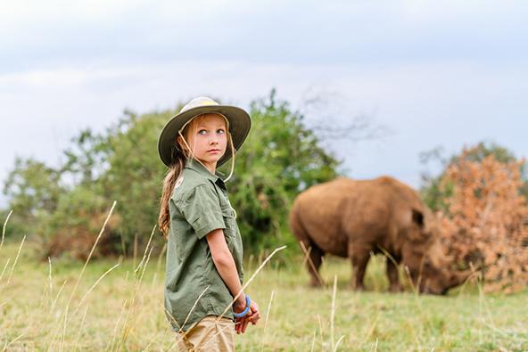 ספארי בטנזניה עם ילדים